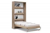 Vertikální sklápěcí postel 90x200 New Elegance - Dub světla sonoma
