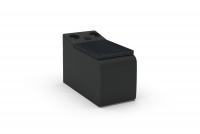 Segment prostokat s poličkou i systemem audio Impressione TRSU
