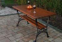 Kráľovský záhradný stôl Cyprys
