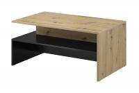 Konferenčný stolík Baros 99 Dub artisan - Čierna