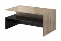 Kávový stolek Baros 99 San remo jasny - Černý