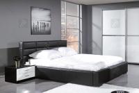 Nočný stolík Panama - Koncovka Série - Výpredaj czarne Nábytok