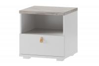 Nočný stolík so zásuvkou Domini 05