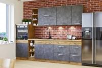 Vindigo Bold Komplet 270cm - Komplet nábytku kuchyňského