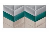 Wezglowie do Postele z paneli tapicerowanych 1,2 Wezglowie z paneli tapicerowanych sciennych, wezglowie, zaglowek, panele tapicerowane
