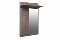 Vešiak z zrkadlom Keri 13 Dub hľuzovka - Výpredaj expozície Vešiak ubraniowy