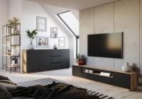 Komplet nábytku do obývacího pokoje loft Doze 3 - skladem!