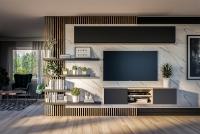 Komplet nábytku do obývacího pokoje loft Doze 5 - skladem!