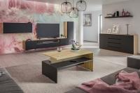 Komplet nábytku do salonu loft Doze 6