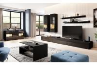 Komplet nábytku z lawa Baros 10 Čierny lesk