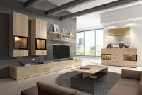Komplet nábytku s konferenčním stolkem Baros San remo světlý