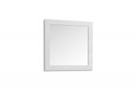 Komplet moderného nábytku do predsienie Combo - Biely/MDF Biely lesk Komplet nábytku z zrkadlom do predsienie