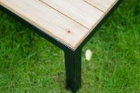 Komplet záhradný se stolem Hooly   stolík do ogrodu