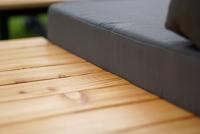 Komplet záhradný se stolem Hooly   Rohová sedacia súprava do ogrodu